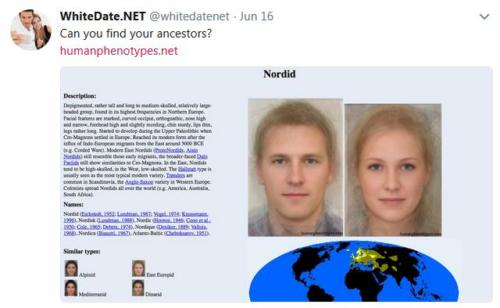 white, nordic phenotypes